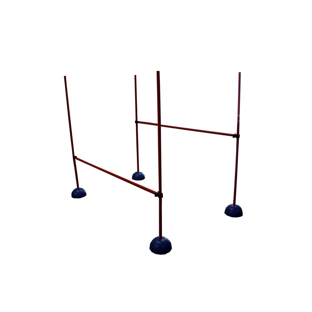 Amber Athletic Gear Indoor Coaching Hurdle (Set of 3)