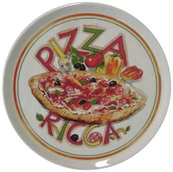 Amazon.com: Tognana Plato Redondo Cinzia ricos Pizza Pizza ...