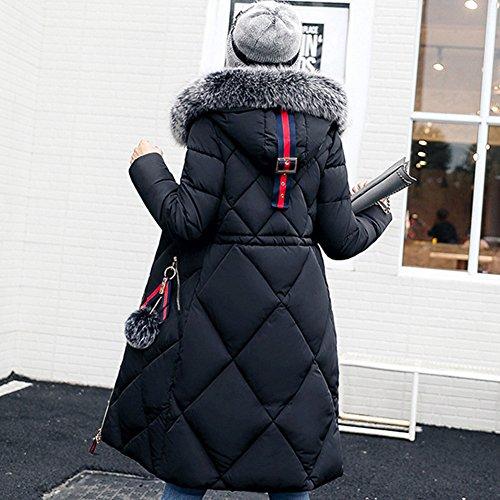 Fiesta Mujer Abrigos Elegantes Invierno 1 de ishine Chaqueta Mujer SxCwEO