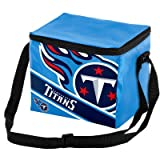 Tennessee Titans Big Logo Stripe 6 Pack Cooler