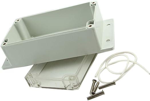 SHUXIN - Caja de plástico para proyectos electrónicos (158 x 90 x 65 mm): Amazon.es: Bricolaje y herramientas