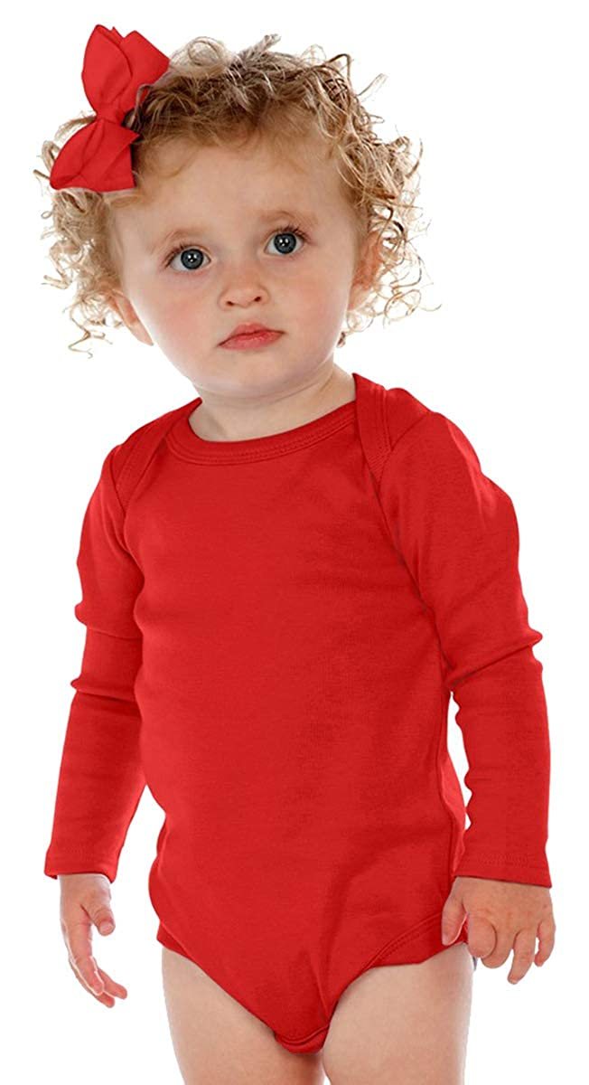 Kavio! Unisex Infants Lap Shoulder Long Sleeve Onesie I1C0268