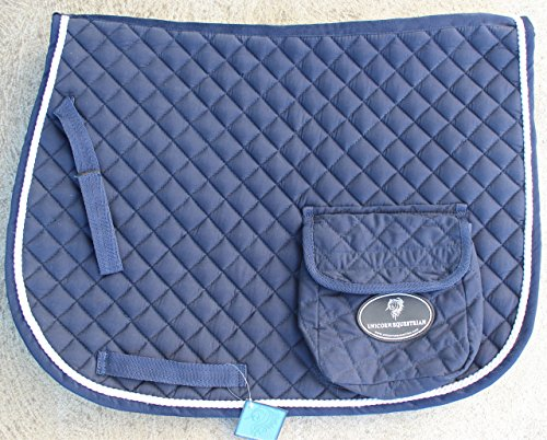 Unicorn Equestrian All Purpose Quilted Comfort Saddle Pad/Saddle Blanket