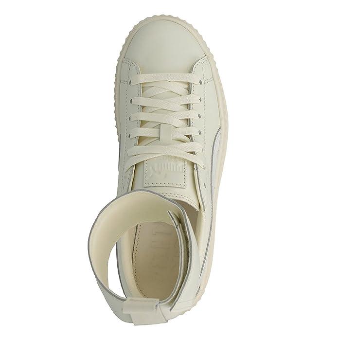 Puma Women's Fenty X Ankle Strap Sneaker Vanilla IceWhite