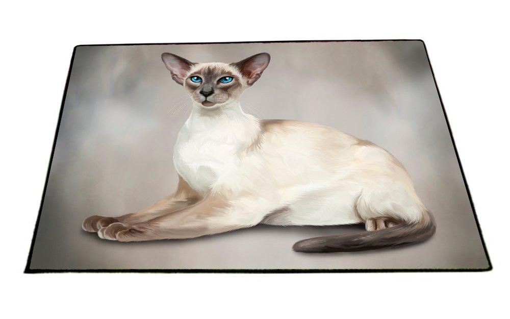 Thai Cat Indoor/Outdoor Floormat D060 (18x24) by Doggie of the Day