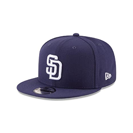 promo code 0d58d a943c Image Unavailable. Image not available for. Color  New Era 9Fifty San Diego  Padres Basic Snapback Hat ...