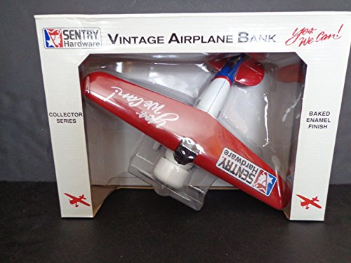 SENTRY HARDWARE LOCKHEED VEGA 5B VINTAGE AIRPLANE BANK FIRST EDITION 1994 NIB .HN#GG_634T6344 G134548TY60786