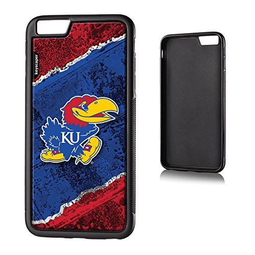 UPC 889344008749, Kansas Jayhawks iPhone 6 Plus & iPhone 6s Bumper Case officially licensed by the University of Kansas for the Apple iPhone 6 Plus by keyscaper® Flexible Full Coverage Low Profile
