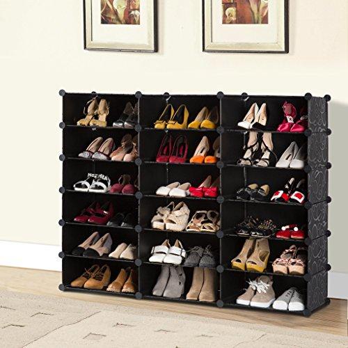 Langria 18 Cube Diy Shoe Rack Storage Drawer Unit Multi