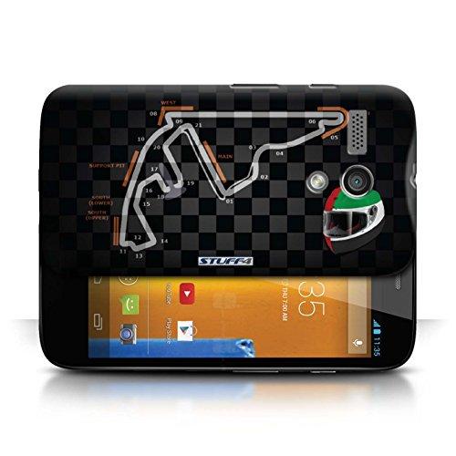 Etui / Coque pour Motorola MOTO G (2013) / Abu Dhabi/Yas Marina conception / Collection de 2014 F1 Piste