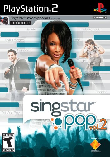 SingStar Pop Vol. 2 - PlayStation 2 (Ps2 Mic Singstar)