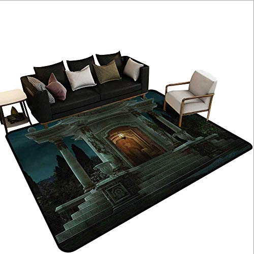 Gothic,Office Chair Floor Mat Foot Pad 80