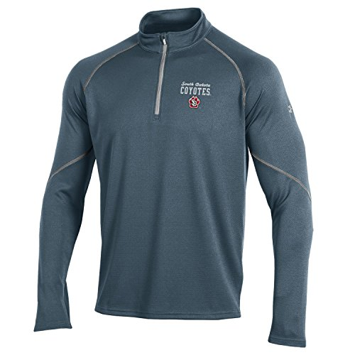 (Under Armour NCAA South Florida Bulls Men's Golf 1/4 Zip, Medium, Stealth)