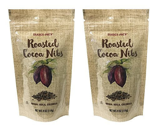 - Trader Joe's Roasted Cocoa Nibs 4oz (Pack of 2)