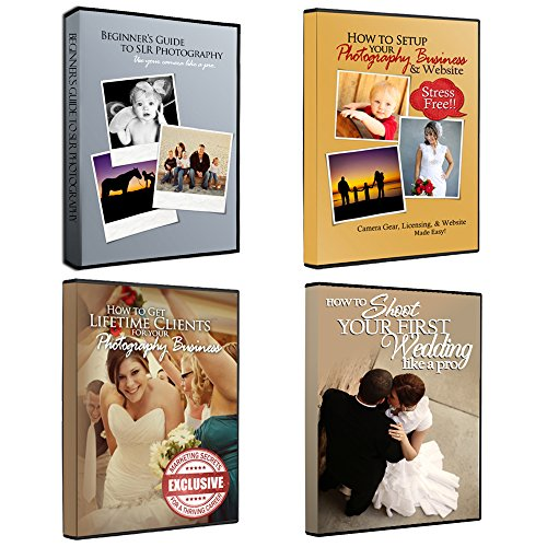Complete DVD Set for Running a Successful Photography Business: Camera, Website, Marketing, & Weddings -