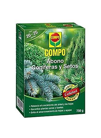 Compo 2655202011 Abono Coníferas Y Setos 750 G, 20x14.2x4.7 cm