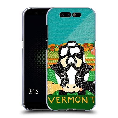 Official Stephen Huneck Bessie Vermont Dog's Friends Soft Gel Case for Xiaomi Black ()