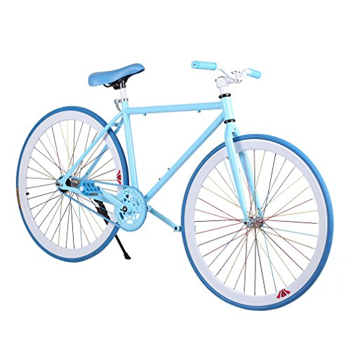Fixed Gear Bicycle Reverse Brake Outdoor Exercise 26 Inch Aluminum Bicycle for Young by Homgrace