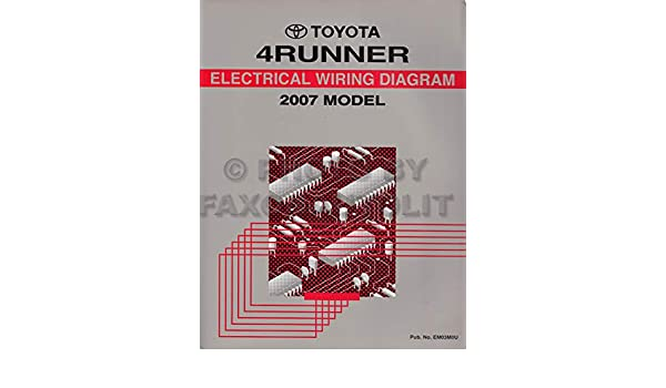2007 Toyota 4runner Wiring Diagram Manual Original Amazon Rhamazon: 2007 Toyota 4runner Wiring Diagram At Cicentre.net