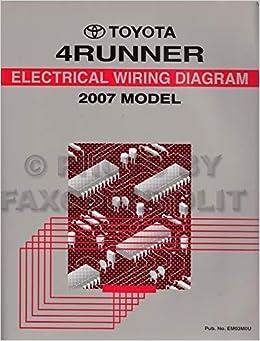 2007 toyota 4runner wiring diagram manual original: toyota: amazon com:  books