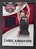 2014-15 Totally Certified Jerseys Blue #16 Chris Andersen Jersey /199 - NM-MT