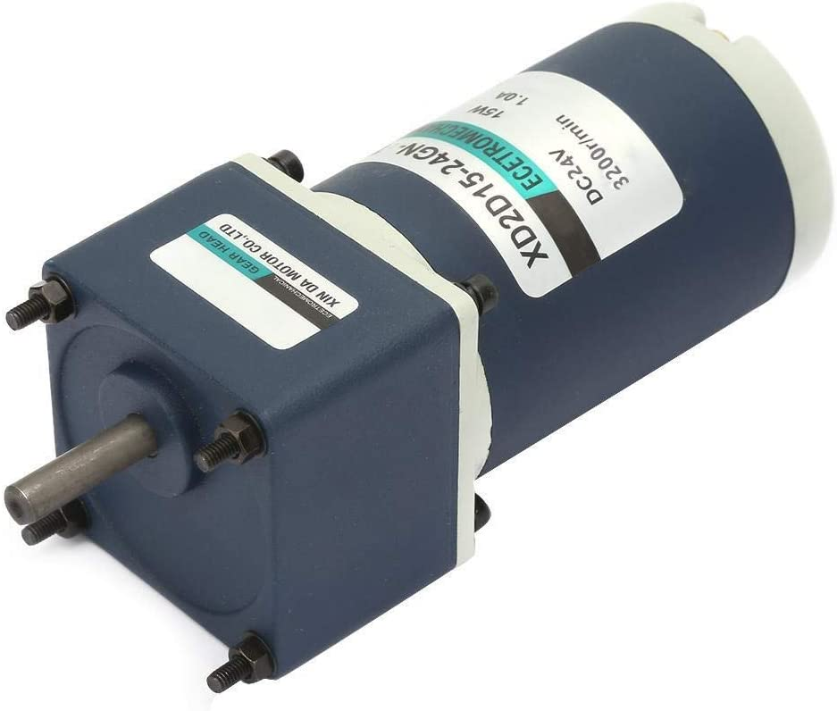 Beennex DC24V 15W XD2D15-24GN-32S Permanent Magnet DC Reduction Gear Motor Adjustable Speed 20RPM