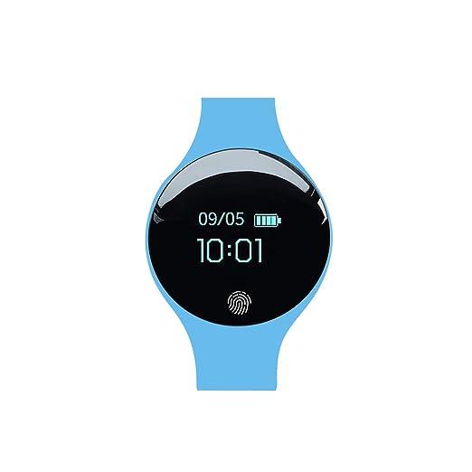Amazon.com: Gankmachine Hombres Mujeres inteligente reloj ...