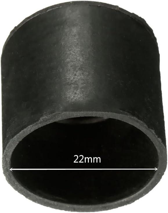 16mm Muebles goma Mesa Silla Pie Patas Cubiertas del piso Cap Protectores conjunto