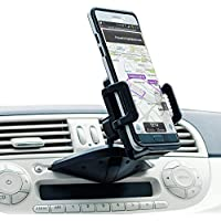 CD Player Phone Mount - Cell Slot For Car - CD Player Phone Holder - Universal Cell Phone Dock - Olixar - 360 Degree Rotation