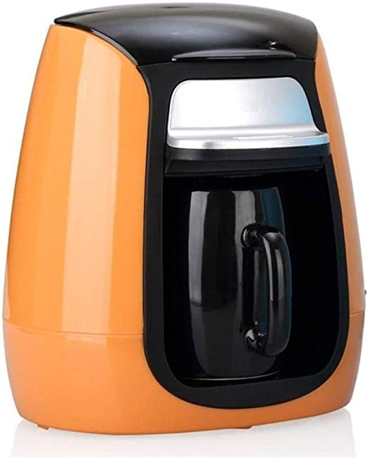 CS-LJ Cafetera automática Mini máquina de café de Goteo con Taza de cerámica Taza de té en casa: Amazon.es: Hogar