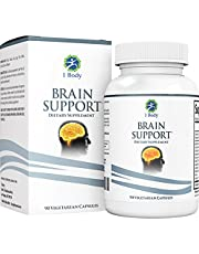 Support Healthy Brain Function with Nootropics, Improve Memory & Boost Focus - Alpha GPC, Lion's Mane Extract, Bacopa Monnieri, Phosphatidylserine, Ginkgo Biloba, Rhodiola Rosea, Huperzine A