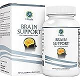Support Healthy Brain Function, Improve Memory & Boost Focus with Nootropics - Alpha GPC, Lion's Mane Extract, Bacopa Monnieri, Phosphatidylserine, Ginkgo Biloba, Rhodiola Rosea, Huperzine A