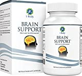 Support Healthy Brain Function, Improve Memory & Boost Focus with Nootropics - Alpha GPC, Lion's Mane Extract, Bacopa Monnieri, Phosphatidylserine, Ginkgo Biloba, Rhodiola Rosea, Huperzine A