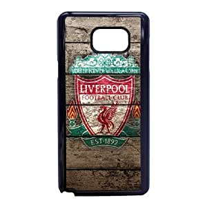 Samsung Galaxy Note 5 Cell Phone Case Phone Case Black Liverpool Logo F5968410