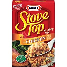 Kraft, Chicken, Stove Top, Stuffing Mix, 6 Oz (Pack of 3)