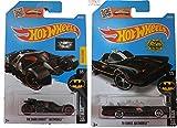 Hot Wheels 2016 Batman Classic TV Series Batmobile & The Dark Knight 2-Car Bundle Set