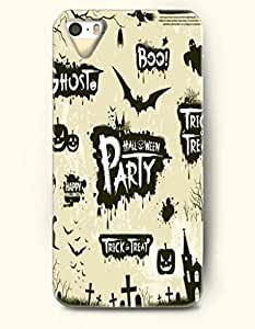 OOFIT iPhone 5 5s Case - Allhalloween Halloween Party Trick Or Treat
