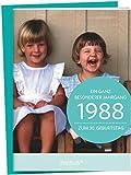 1988 - Ein ganz besonderer Jahrgang Zum 30. Geburtstag: Jahrgangs-Heftchen mit Kuvert