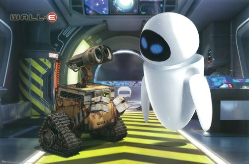 Disney Wall E Movie Poster One Sheet Rare Hot New - Wall E Poster