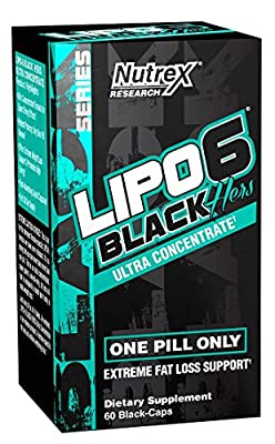 Nutrex Research Lipo 6 Black Hers Ultra Concentrate, 60 Count