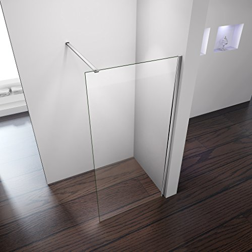 Perfect 900x1850mm Height Walk In Wet Room Shower Enclosure 8mm Easyclean...