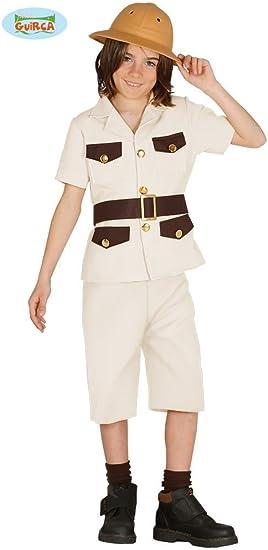 Disfraz de Explorador Cazador para niños: Amazon.es: Juguetes y juegos