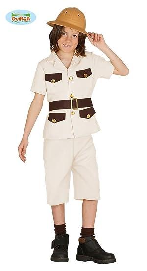 Disfraz de Explorador Cazador para niños: Amazon.es ...