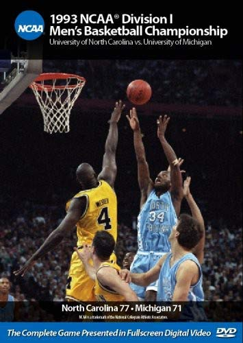 1993 NCAA Division I Men's Basketball Championship: UNC vs. ()