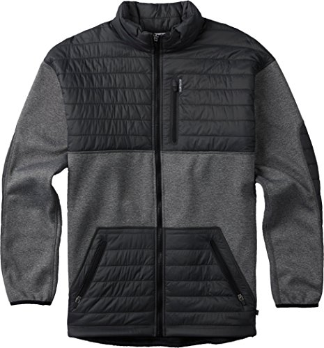 (Burton Men's Backside Jacket, True Black, Large )