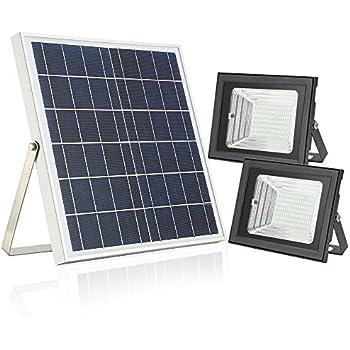Amazon.com: Moresun - Luz solar con mando a distancia, 18 W ...