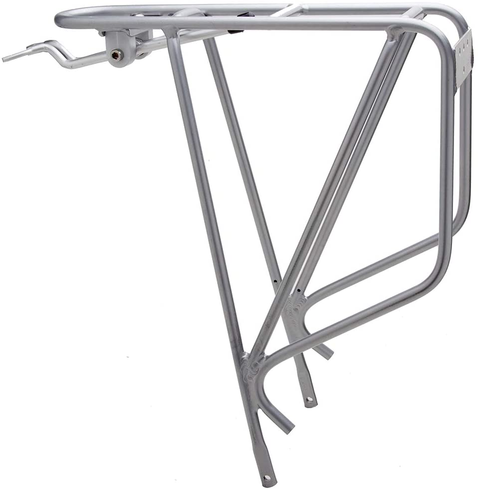 27.5 and Cyclocross Bikes ATB Cargo Rack Fits 26 Bicycle Touring Carrier and 29 MTB 700c Planet Bike K.O.K.O Bike Rack Road Silver