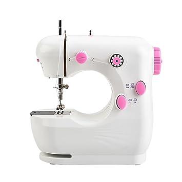 Myhope Electric mini máquina de coser doméstica eléctrica y pedal doble elección con luz LED multifunción: Amazon.es: Deportes y aire libre