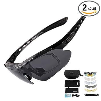 Amazon.com: Sireck - Gafas de sol deportivas polarizadas ...