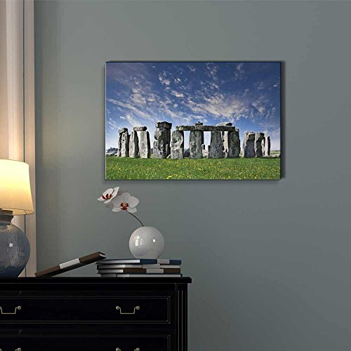 Beautiful Scenery Landscape Mysterious Stonehenge in UK Wall Decor ation
